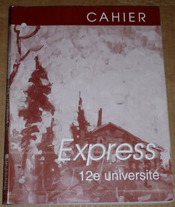 French Exercise Book :Cahier Express 12e universite