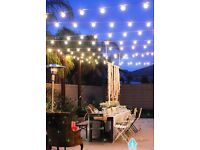 For Decoration Lights Rubber Cable Festoon Belt. Ideal for Christmas, garden , party, wedding ...