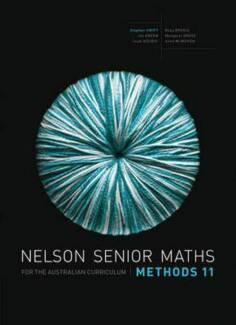 Nelson senior Maths Methods 11