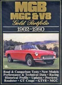 MG MGB, MGC & V8 Gold Portfolio 1962 - 1980 by R.M. Clarke Blacktown Blacktown Area Preview