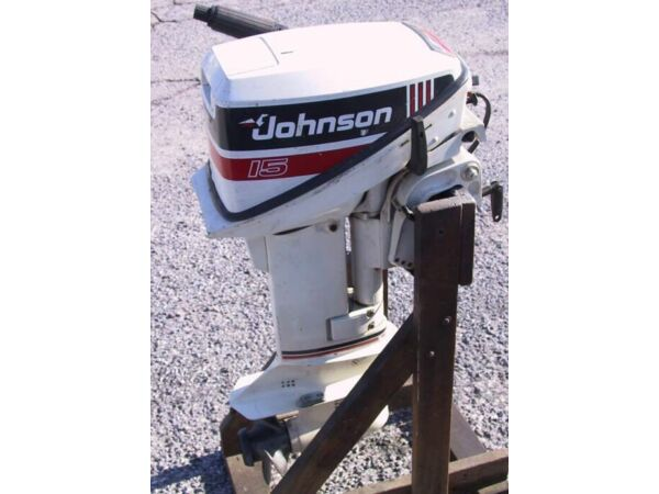 Used 1992 Johnson 15 hp