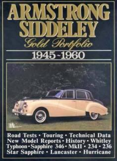 Armstrong Siddeley Gold Portfolio 1945 - 1960