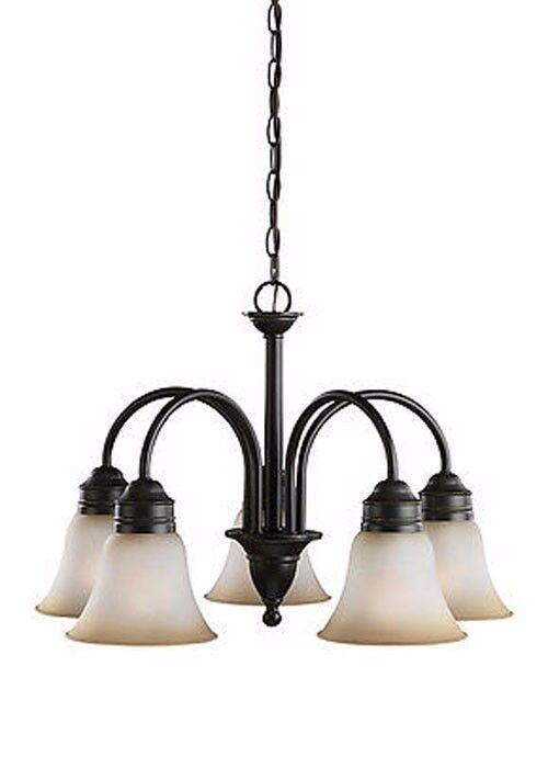 Sea Gull Lighting Gladstone 31851-782 5-Light Chandelier Pen
