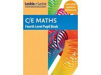 CfE Maths - CfE Maths Fourth Level Pupil Book
