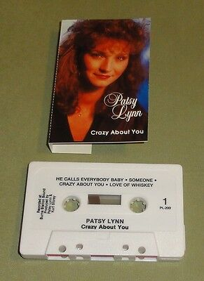 PATSY LYNN - Crazy About You [used] Cassette/Tape