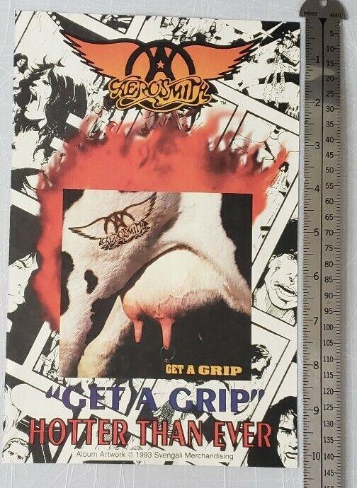 Aerosmith Get A Grip Poster