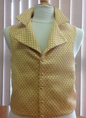 MADE TO ORDER Halifax Brocade Regency Waistcoat - Choose Your Colour And Size