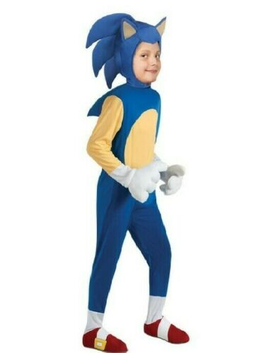 Sonic the Hedgehog - Child Costume SIZE S US Seller