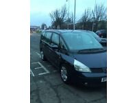 Renault Grand Espace 2.2dCi LOW MILEAGE . MOT . 7 SEATER .Great Condition MPV 89,000 miles.