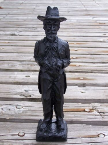 Kentucky Colonel Made From Coal Figurine Handcrafted In Kentucky