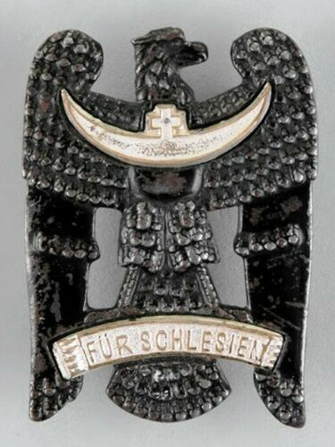 SCHLESIAN EAGLE, FIRST CLASS, PIN BACK