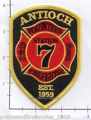 North Carolina - Antioch NC Volunteer Fire Dept Station 7 Fire Patch