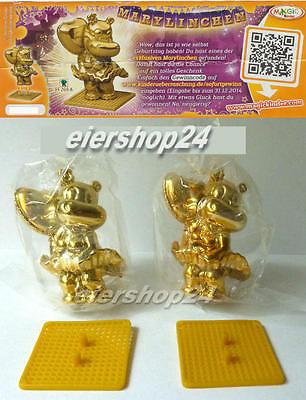 Alle 2 Sonderfiguren GOLDENES MARYLINCHEN gold (hell & dunkel) inkl. 2 BPZ