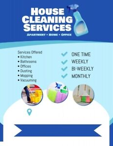 DEEP. DETAIL CLEANING Weekly/Monthly....Call NOW