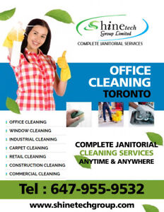 Commercial Cleaning Services to Small & Big Businesses Toronto