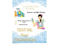 Experienced cleaner looking for customers