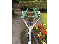 Boat trailer up to 20ft mint condition