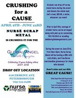 Crushing for the Global Angel Charitable Foundation