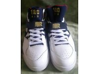 Nike air force trainers. New. Never worn. Size UK 7.5. Mainly white.