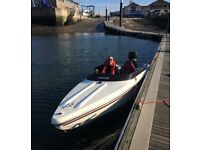 16ft Ring Speedboat with trailer
