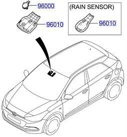 Hyundai i20 Rain Sensor Cover ( auto defog ) 96010C8010