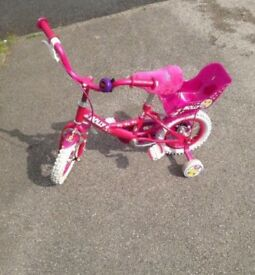 "Girls Raleigh Bike Wheel Size 12"""