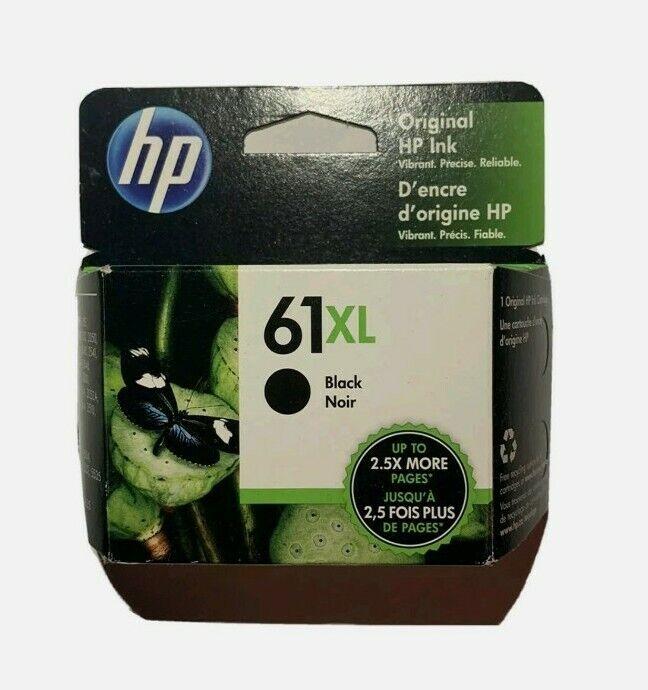 Brand New - HP 61XL Black Ink Cartridge Genuine (exp. 2022/2023) Free Shipping!