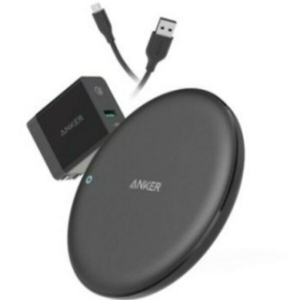 Anker Powerwave 7.5 Pad With Quick Charge 3.0 Charger/Anker Wireless Charger