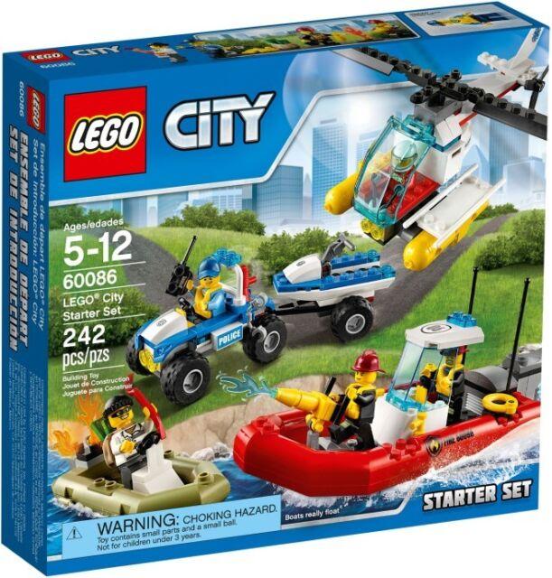 LEGO CITY 60086 - LEGO CITY STARTER SET - IN STOCK NOW - BNISB - MELB SELLER