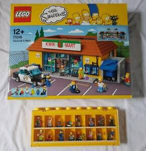LEGO - Simpsons - Kwik-E-Mart 71016 and Minifig Series #2 - NEW
