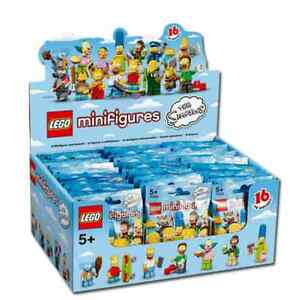 NEW-SEALED-LEGO-Box-Case-71005-of-60-MINIFIGURES-SERIES-S-Simpsons