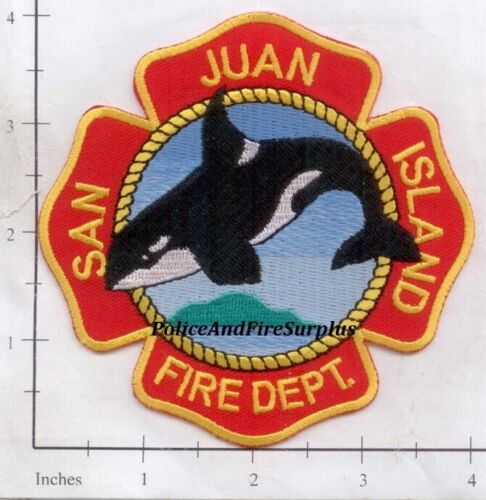 Washington - San Juan Island WA Fire Dept Patch