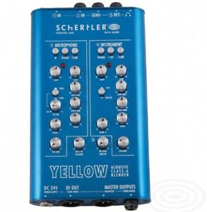 Schertler yellow blender 2 channels pre amp