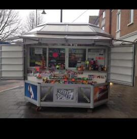 Kiosk news paper stand