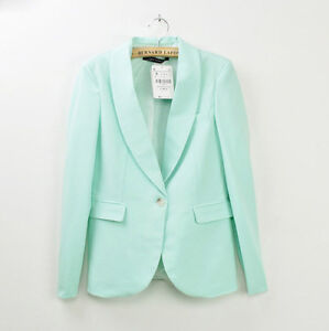 Womens Colors Celebrity Style Candy Color Casual Suit Blazer Jacket One Button