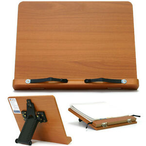Book-Stand-Portable-Wooden-Reading-Desk-Holder-T