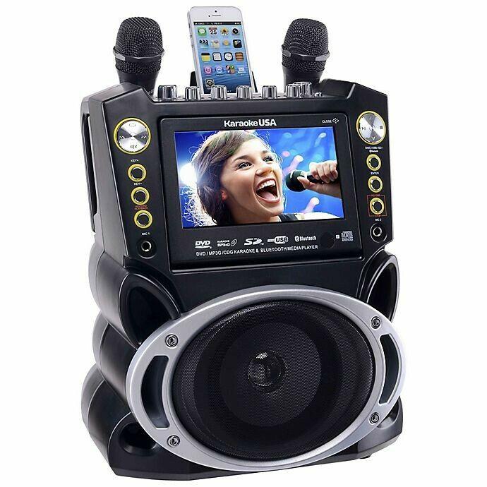 Karaoke USA GF846 Bluetooth Karaoke System
