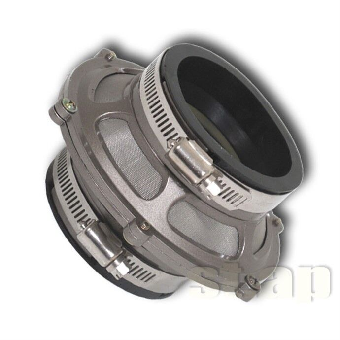 """New Universal 3/"""" Inch 76MM Turbo//Cold Air Intake JDM Bypass Valve Filter Silver"""