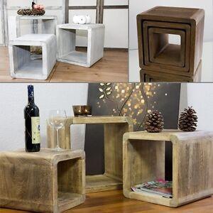 Neg design tisch set vinuja 3 tlg couchtisch for Design tisch ebay