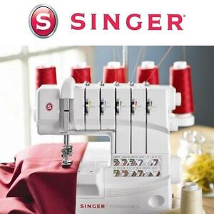 NEW SINGER SEWING MACHINE 5-4-3-2 Thread Capability Serger Overlock with Auto Tension 108844228
