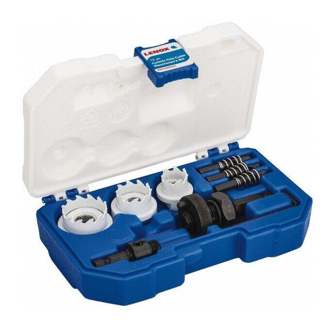 Lenox 300CHC 12 Pc. Electrician Carbide Hole Cutter Kit