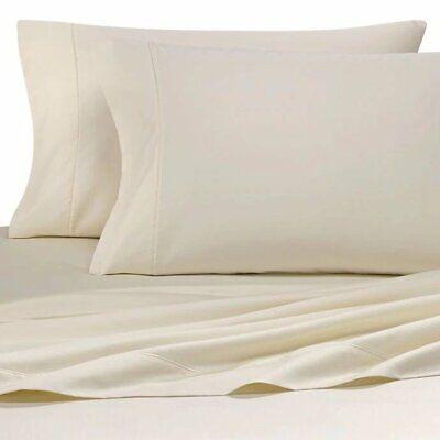 Wamsutta® 500-Thread-Count PimaCott® Sofa Bed Full Sheet Set Solid Ivory ()