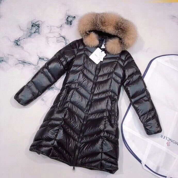 f384139b3f23 Moncler Fulmar Long Coat Jacket Size L