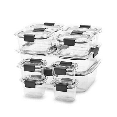 Rubbermaid Brilliance 22-piece Food Storage Container