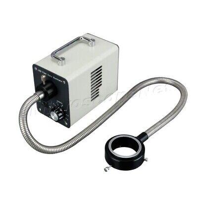 30w Cold Led Fiber Optic Ring Light Microscope Illuminator