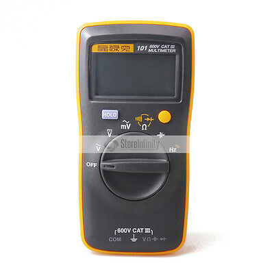 Fluke 101 Digital Multimeter Pocket Portable Meter Equipment Industrial Us Stock