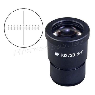 Wf10x High Eyepoint Widefield Microscope Eyepiece With Reticle 30mm