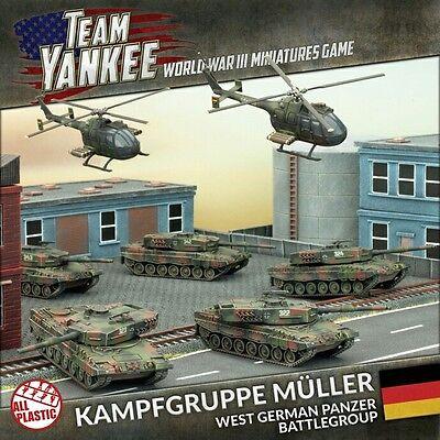 Battlefront Flames of War Team Yankee Kampfgruppe Muller TGRAB1 FREE SHIP