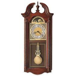 New Howard Miller Fenwick Wall Clock in Windsor Cherry 620-159