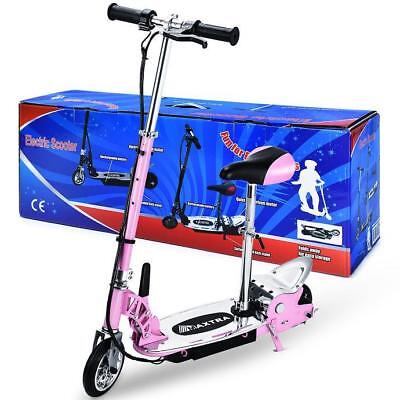 Maxtra E120 177lbs Maxload Electric Scooter Motorized Bike Rechargeable Pink